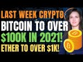 Bitcoin to Over $100k in 2021! (Ether to Over $1k!) - Last Week Crypto