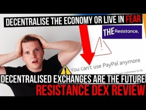 DECENTRALISATION IS FREEDOM, DECENTRALISED CRYPTO EXCHANGES ARE THE FUTURE! Resistance DEX Review