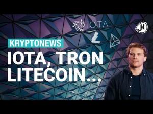 5x Krypto News der letzten Tage: IOTA, Litecoin, Tron, Liechtenstein, Facebook